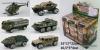 850-Военная техника,металл.,в ассорт.