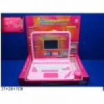 Компьютер розовый
