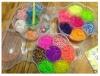 Набор резиночек для плетения в пласт.коробке
