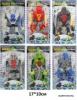 Герои на картоне 6 видов